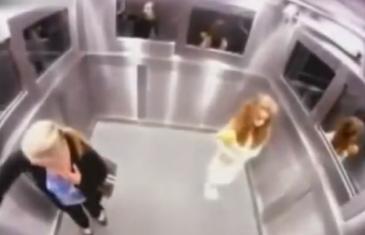 Fantôme dans l'ascenseur