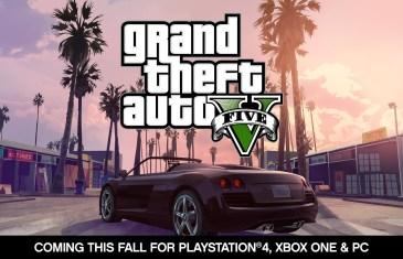Trailer GTA V sur PC, PS4 et Xbox One