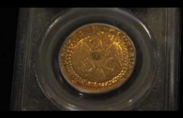 La 1ère pièce d'or américaine vendue pour 7 395 000$