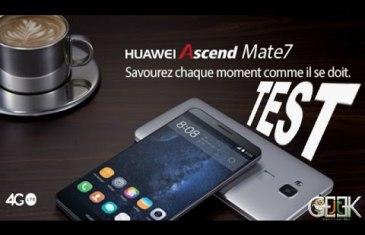 Huawei monte en gamme avec sa phablette Ascend Mate 7