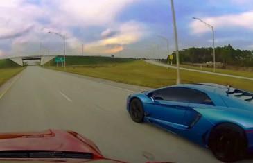 Test de rapidité : Lamborghini Aventador vs Tesla SP85D