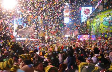 Le nouvel an à New York version time lapse !