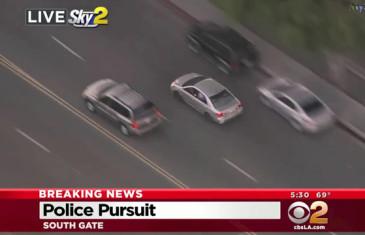 Course poursuite à la GTA dans les rues de Los Angeles !