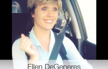 Lauren O'Brien parodie les stars américaines