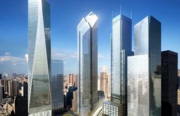 Les travaux du One World Trade Center en time-lapse