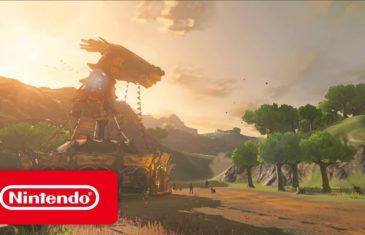 Une nouvelle bande-annonce pour Zelda : Breath of the Wild !