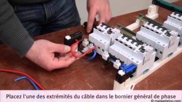 Comment installer un tableau électrique pré-équipé