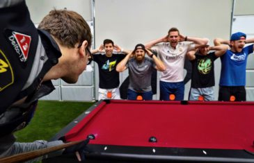 Incroyable trick Shots au billard