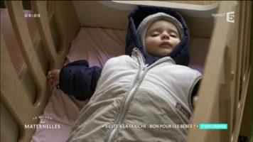 Crèche : la sieste en plein air pour les bébés