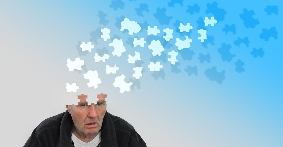 personne souffre Alzheimer