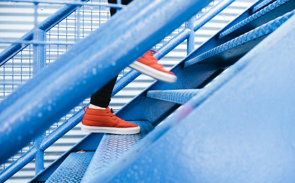 monter escalier
