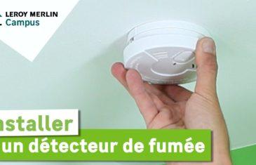Comment installer un détecteur de fumée ?